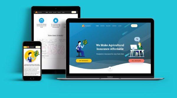 blockchain based insurance software - SmartAgRisk