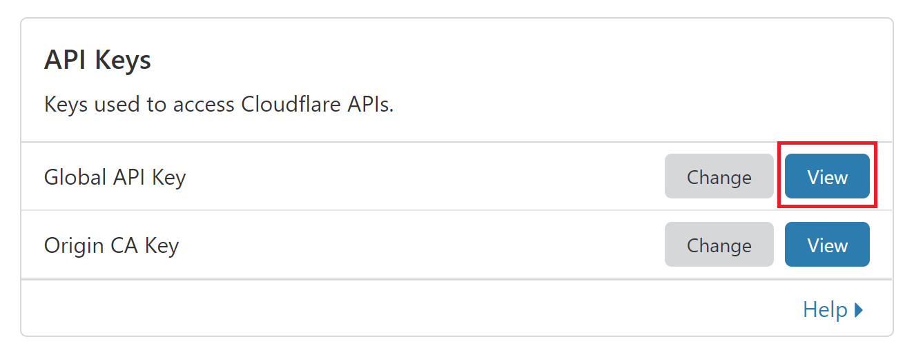 CloudFlare Tokens