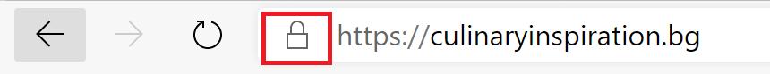 Website Secure Connection